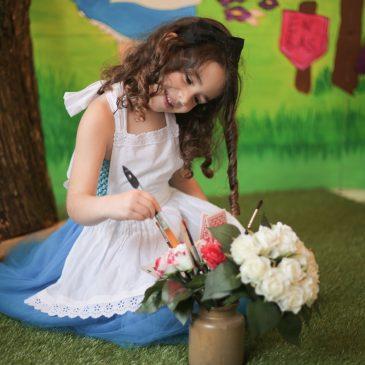 Partenariat Mademoiselle Pose thème Alice
