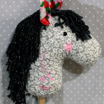 Hobby horsing Mademoiselle Bigoudi