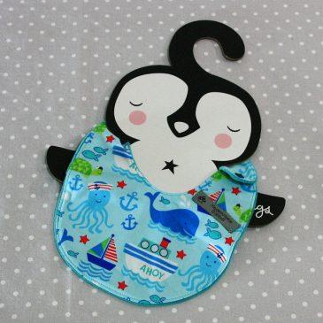 Bavoir bébé 0/8 mois thème mer