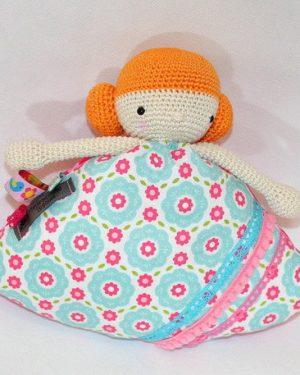 Poupinette, doudou pour bébé au crochet