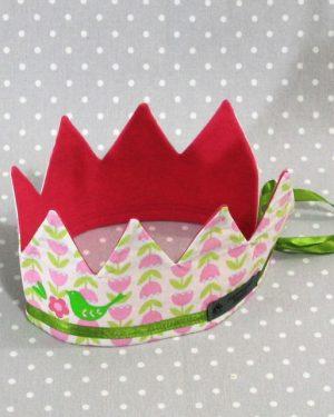 Je suis une princesse: couronne Princesse des oiseaux fait main