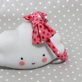 serre-tête petit nœud/accessoire enfant cœur- heart kid's headband