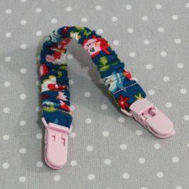 Clip attache bavette/serviette/doudou thème hibou