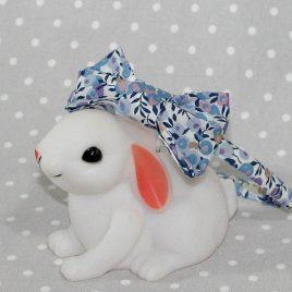Serre-tête petit nœud/accessoire enfant Liberty Wiltshire lilas