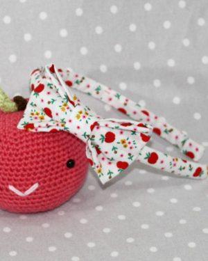 serre-tête petit nœud/accessoire petites pommes