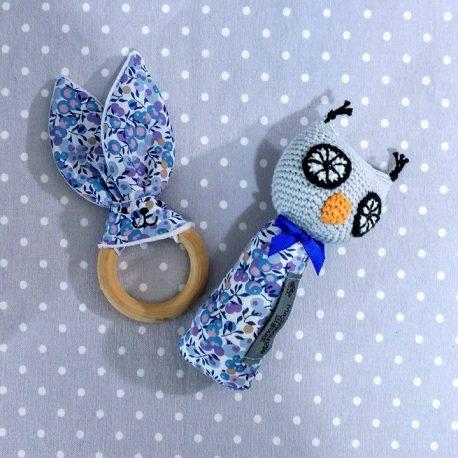 Clip attache bavette/serviette/doudou thème noël 3