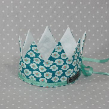 Couronne de Princesse Petit Pan bleu