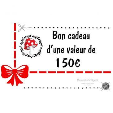 Bon cadeau 150 €