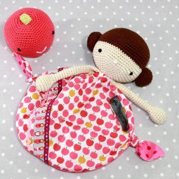 Pépinette, doudou poupée pour bébé