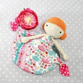 Malie, doudou poupée pour bébé
