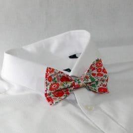 Nœud papillon pré-noué / ajustable pour homme Liberty Django Multi Rose