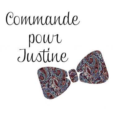 Commande pour Justine Nœud papillon pré-noué / ajustable pour homme Liberty Tessa