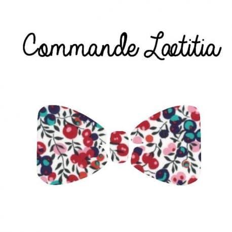 commande Laetitia