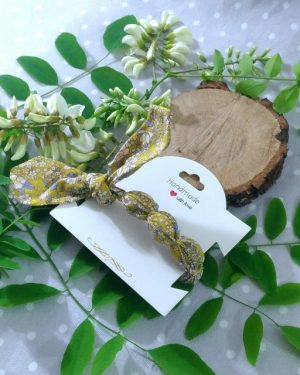 Bracelet à nouer femme Kobayashi jaune
