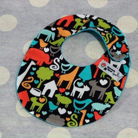 Bavoir bébé 0/8 mois thème animaux