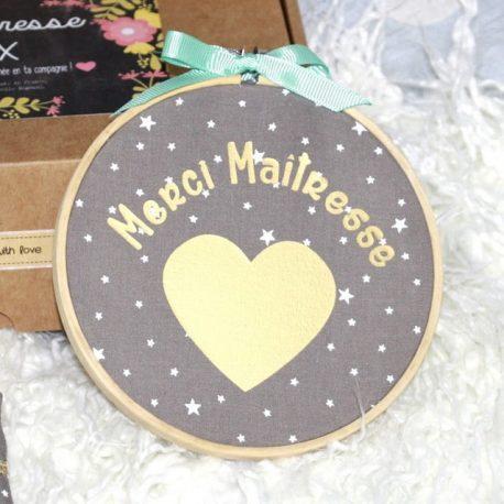 Box «Merci Maîtresse» étoiles taupe 3