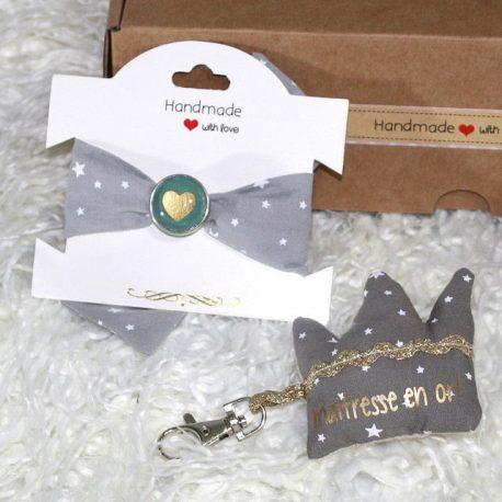 Box «Merci Maîtresse» étoiles taupe 2