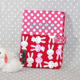 Protège carnet de santé personnalisable thème lapin