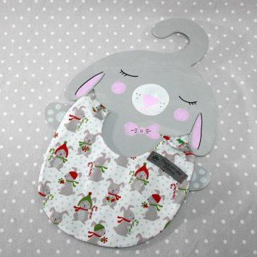 Bavoir bébé 0/8 mois thème lapin