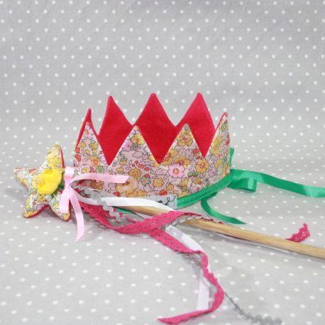 Panoplie fée princesse/ déguisement en Liberty jaune
