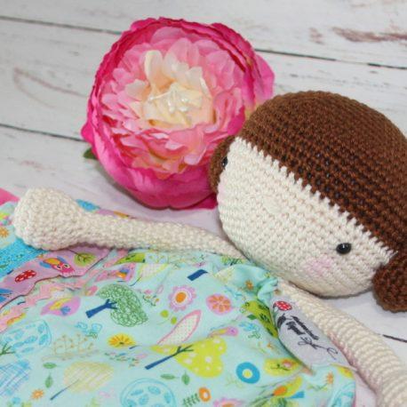Doudou poupée au crochet fait main 2