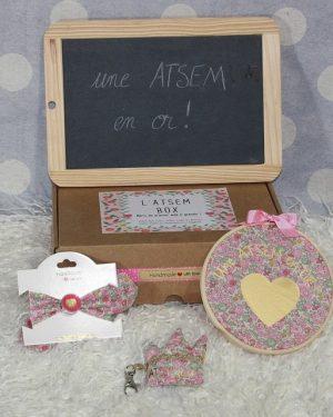 "Box ""Une Atsem en or"" Liberty Betsy Ann Marthe"