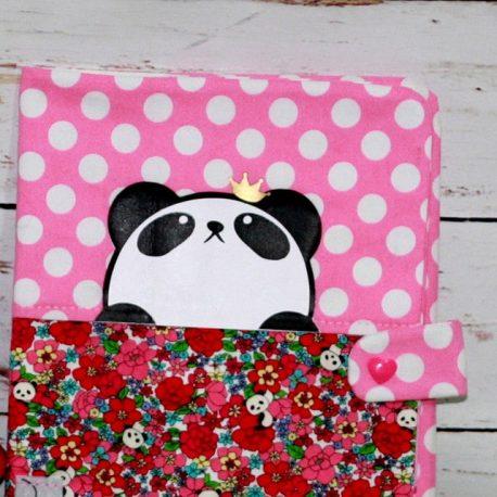 Protège carnet de santé personnalisable thème Panda 2