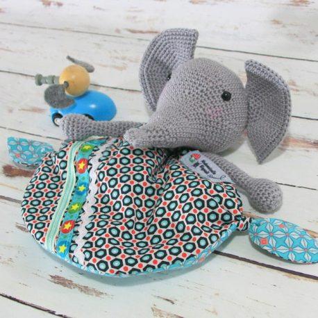 Elmer, doudou éléphant 3