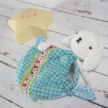 Doudou lapin pour bébé