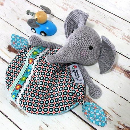 Elmer, doudou éléphant 2