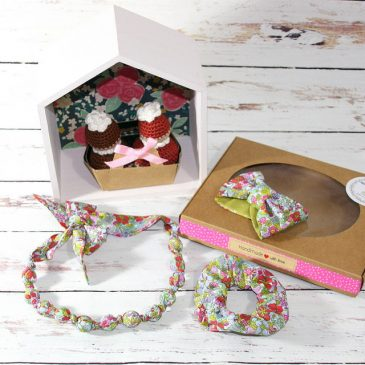 Coquette box en Liberty Flower tops